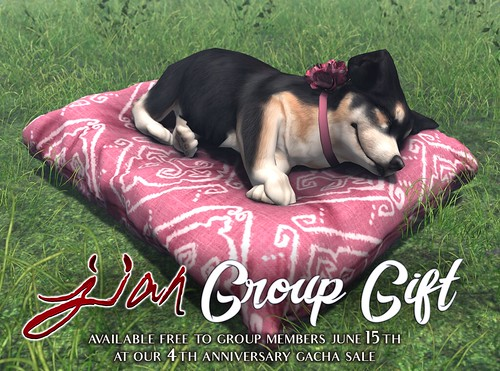 JIAN Group Gift :: Available June 15th @ 9am SLT!