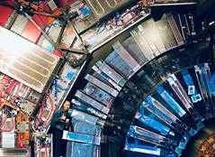 Inside the CERN museum, jammed by circuits 😂