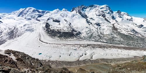 Gletscher Panorama
