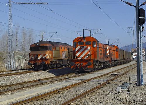 Souselas. Linha do Norte. 2005