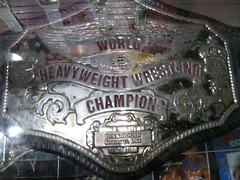 Hulk Hogan's Heavyweight Wrestling Championship Belt