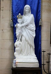 Saint-Pierre-sur-Dives - Vierge à l'Enfant - Photo of Ernes