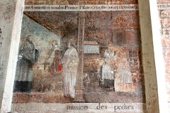 Saint-Pierre-sur-Dives - Credo polychrome - Photo of Ernes