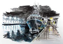 Lorient, pêche