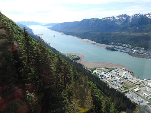 Gastineau Channel looking south