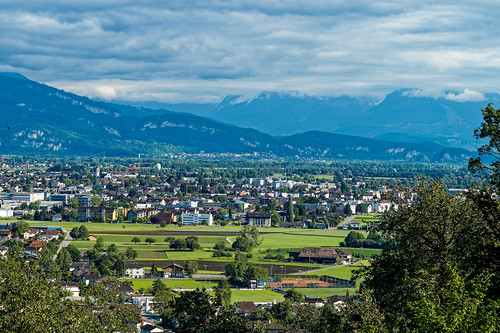 View towards Widnau