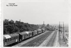 F-27200 Saint-Marcel (27) (Vernon) Ligne SNCF Paris - Le Havre Train sanitaire/Hospital train/Lazarettzug  326 SNCF OCEM Voitures C9/B9 im Juni 1940