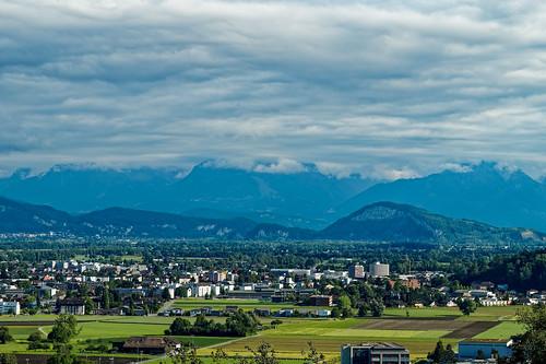 View towards Heerbrugg
