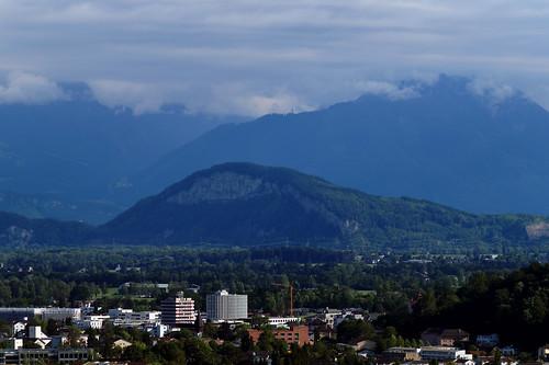 View towards the Kummenberg