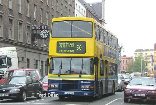 Dublin Bus RA295 (96D295).