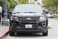 Everett Police Department Gang Unit Ford Police Interceptor Utility SUV