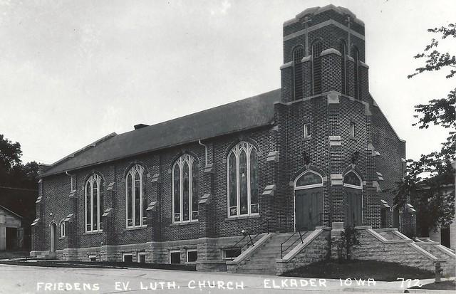 Elkader, Iowa, Friedens Evangelical Lutheran Church