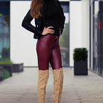 Juliane ... red pants