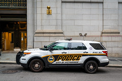 Pittsburgh Police Department Squad Car