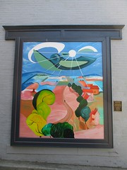Mural in Charles Town