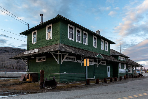 Nenana Historic Alaska Railroad Depot