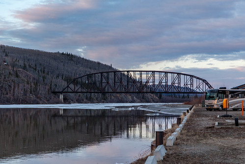 Tanana River and Mears Memorial Bridge