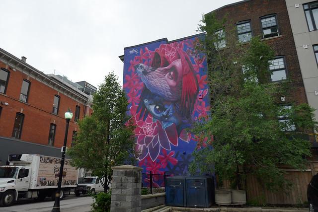New mural by Werc Hughson St. N. (4)