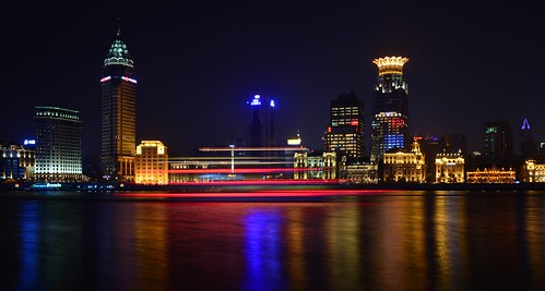 Shanghai - Bund and Tour Boat