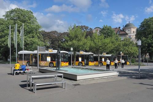 Bad Ragaz - Bus Stop SBB