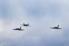 Czech Air Force L-159 ALCA & Spitfire PR.XI.