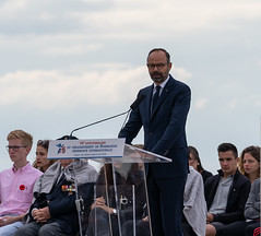 Edouard Philippe, Juno Beach, 6 juin 2019 - Photo of Saint-Germain-du-Pert