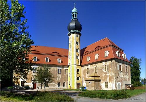 Neues Schloss in Hof bei Oschatz