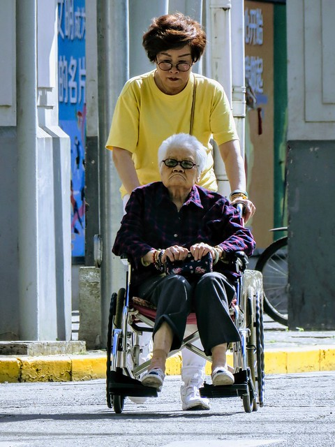 Mother and daughter, #Shanghai