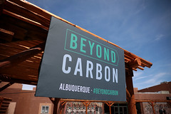 Beyond Carbon sign