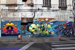 graffiti - Jotapê, Seilá e Celo na Fernando Machado