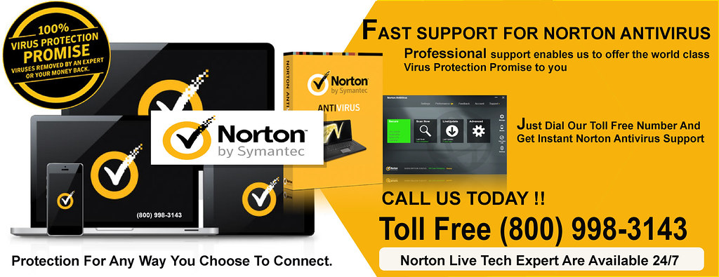 Norton Antivirus Support Phone Number (800) 998-3143 - Download
