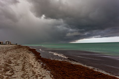 Image by Mi Bob (springlake) and image name Storm Clouds photo  about Wicked storm clouds roll over the Gulf of Mexico at Venice Florida.