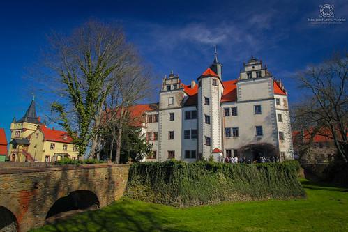 Wasserschloss Podelwitz an der Freiberger Mulde