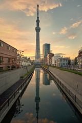 Image by fredMin (fredmin) and image name Tokyo Skytree Tower photo