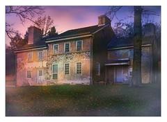 Abandoned Farmhouse at Dawn