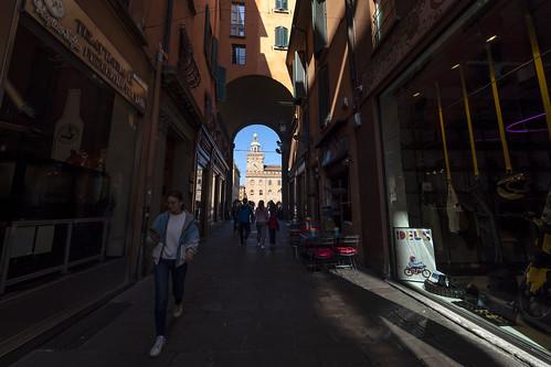 """Bologna (Italy) -  """"Il quadrilatero"""" - Via Clavature"""