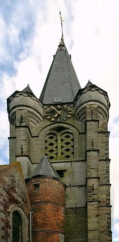 Frasnes-lez-Anvaing , Belgique, église Saint Martin