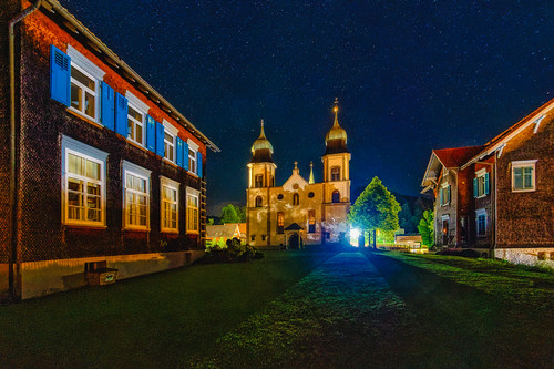 Bildstein at night