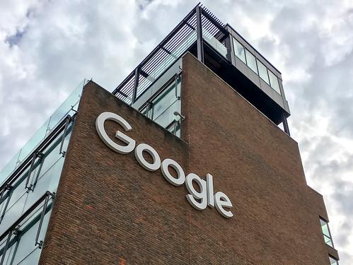 Google Ireland Building Sign