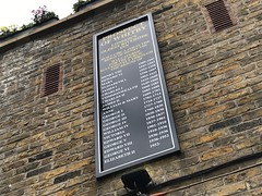 List of monarchs on the Prospect of Whitby pub