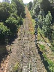 Rail Line from Rodez To Severac le Chateau ( Disused)