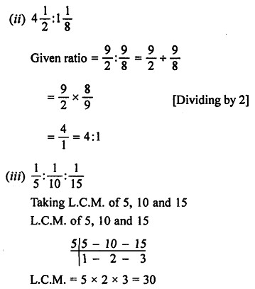 ML Aggarwal Class 7 Solutions for ICSE Maths Chapter 6 Ratio