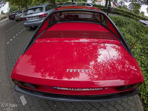 Ferrari Mondial back