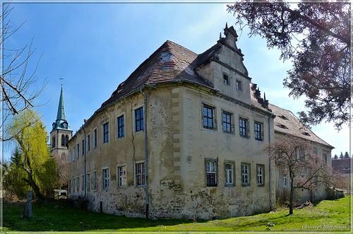 Schloss des Ritterguts Ottendorf bei Pirna