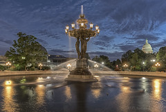 Bartholdi Fountain Dawn 061719