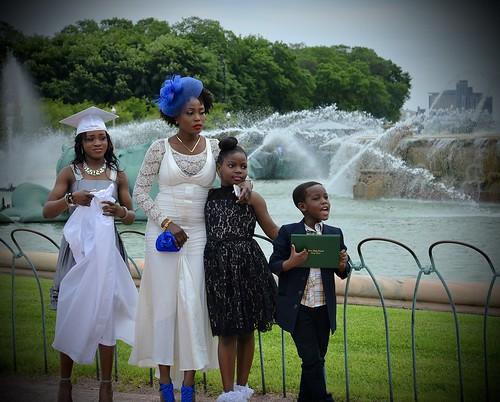 Happy Graduation - Buckingham Fountain Chicago IL