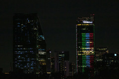 skycrappers by night