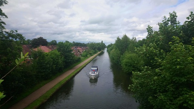 On the Bridgewater Canal at Timperley