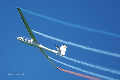 Johan Gustafsson  Sweden - Glider Aerobatic - SE-UVJ - Acro SZD-59.    Oostwold Airshow 2019.