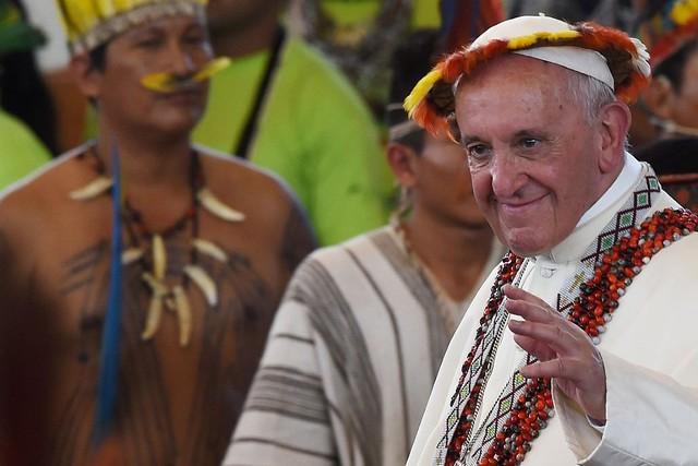 O Papa Francisco convocou o Sínodo de Bispos da Amazônia, que acontece em outubro em Roma - Créditos: Vatican News